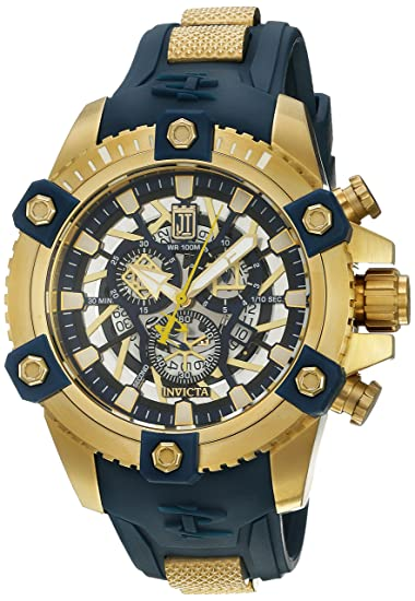 Invicta Mens Reserve 48mm Jason Taylor Octane Swiss Made