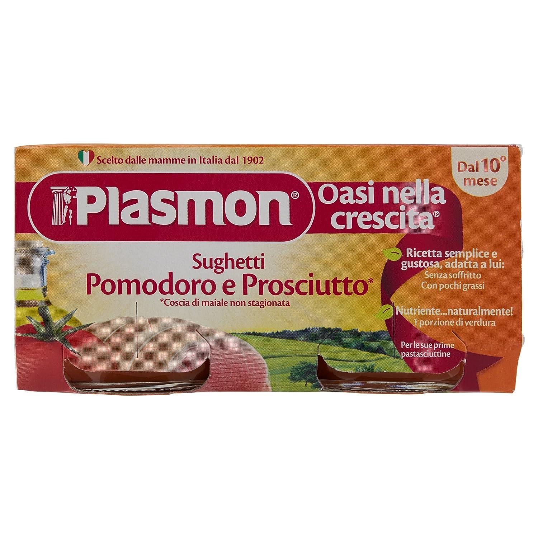 Plasmon Tomato and Ham Sauce (2x80g) 70147200