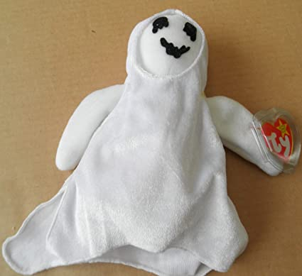 Image Unavailable. Image not available for. Color  TY Beanie Babies Sheets  the Ghost Stuffed Animal ... b03a5c73b9e0