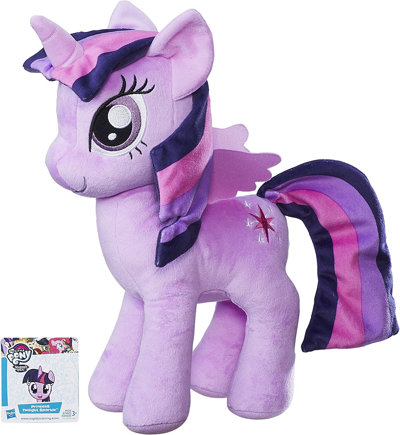 Amazon Com My Little Pony Friendship Is Magic Princess Twilight Sparkle Cuddly Plush Toys Games