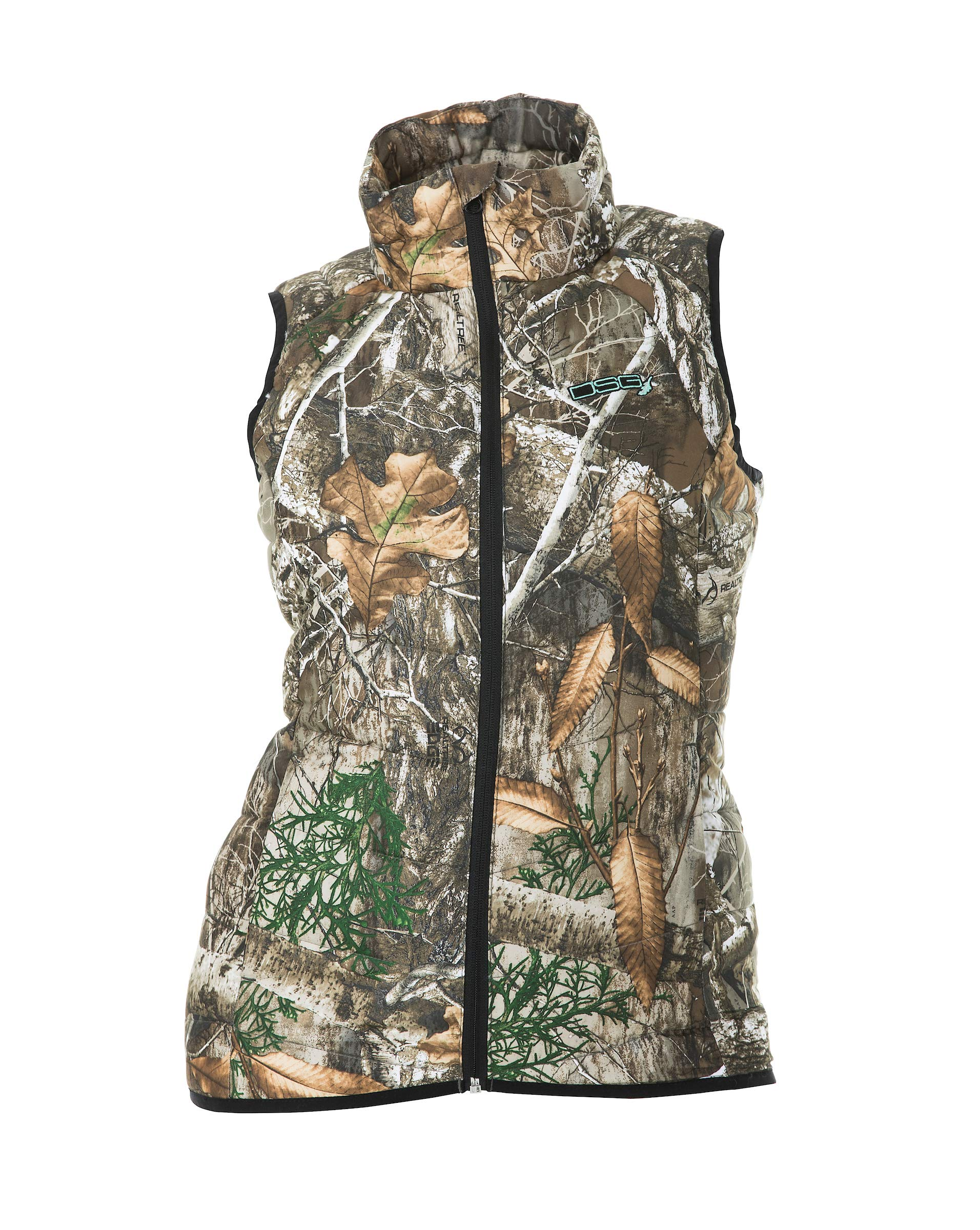 DSG Outerwear Womens Hunting Puffer Vest (Realtree Edge, 2XL) by DSG Outerwear