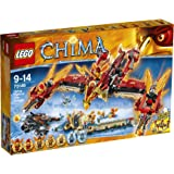 LEGO Legends Of Chima-playthèmes - 70146 - Jeu De Construction - Le Temple Du Phœnix De Feu