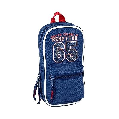 Benetton UCB Boy Oficial Neceser Con 4 Estuches 120x50x230mm: Oficina y papelería