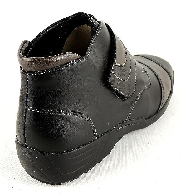 Remonte Mandril Pueblo Mujer Botas/Botines Crist allino Piel/Bogota/Fino, Forro de Lana de Cordero,: Amazon.es: Zapatos y complementos
