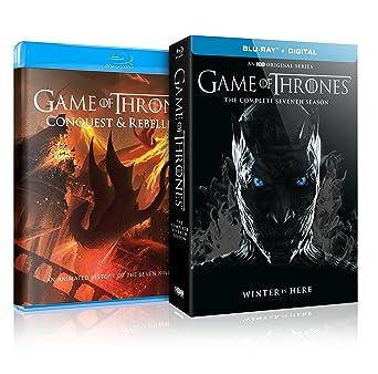 Amazoncom Game Of Thrones S7 Conquestrebellion Blu