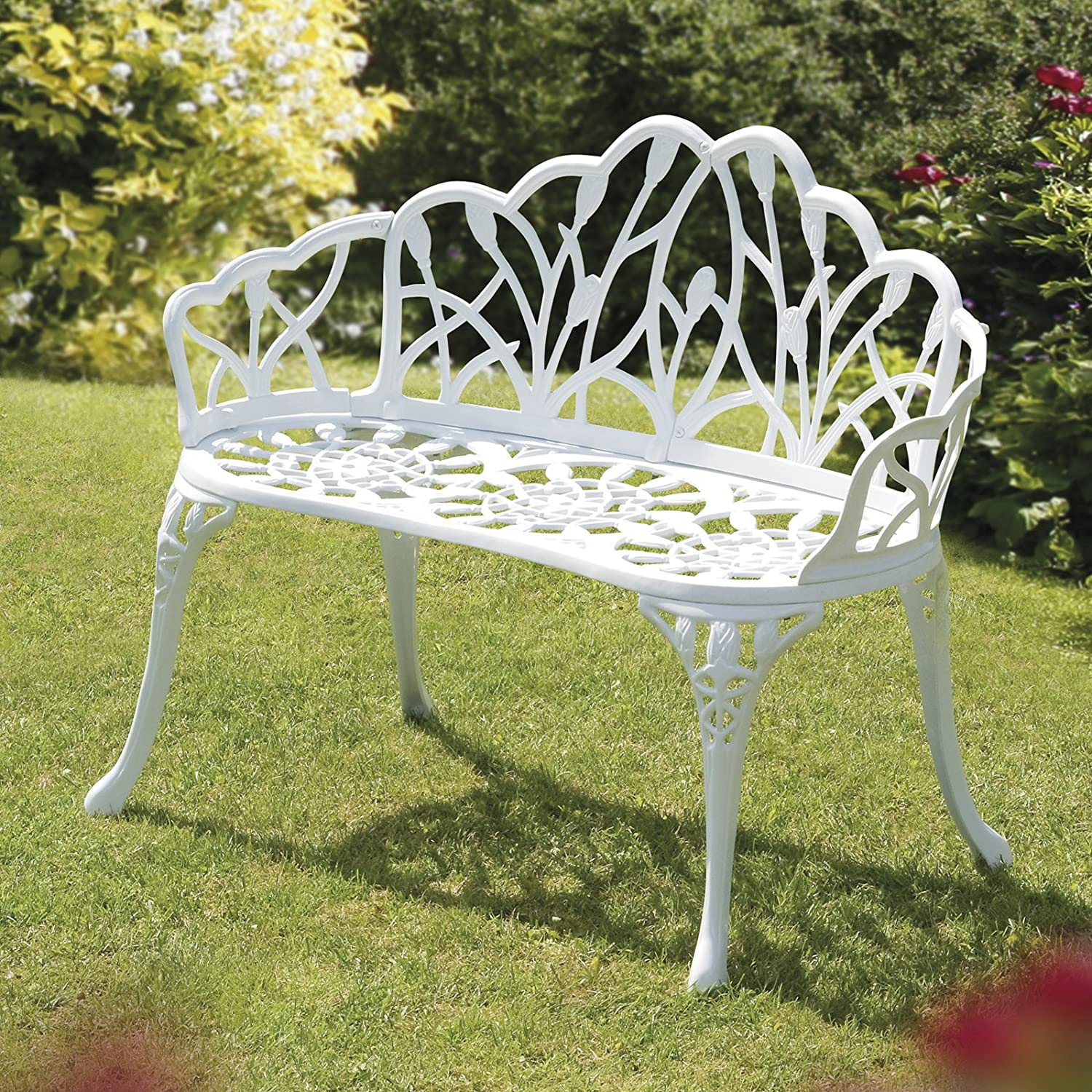 a inch curved receptions celebrate garden rentals party weddings bench white