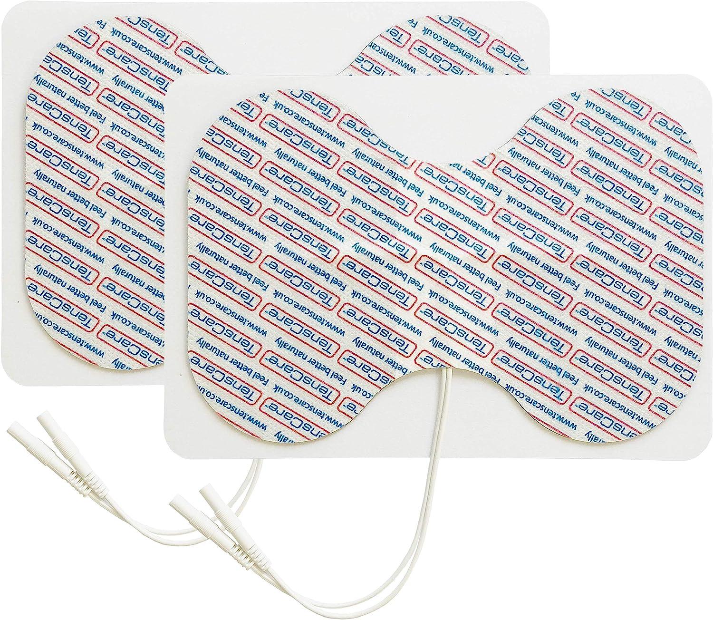 2 Electrodos con forma mariposa