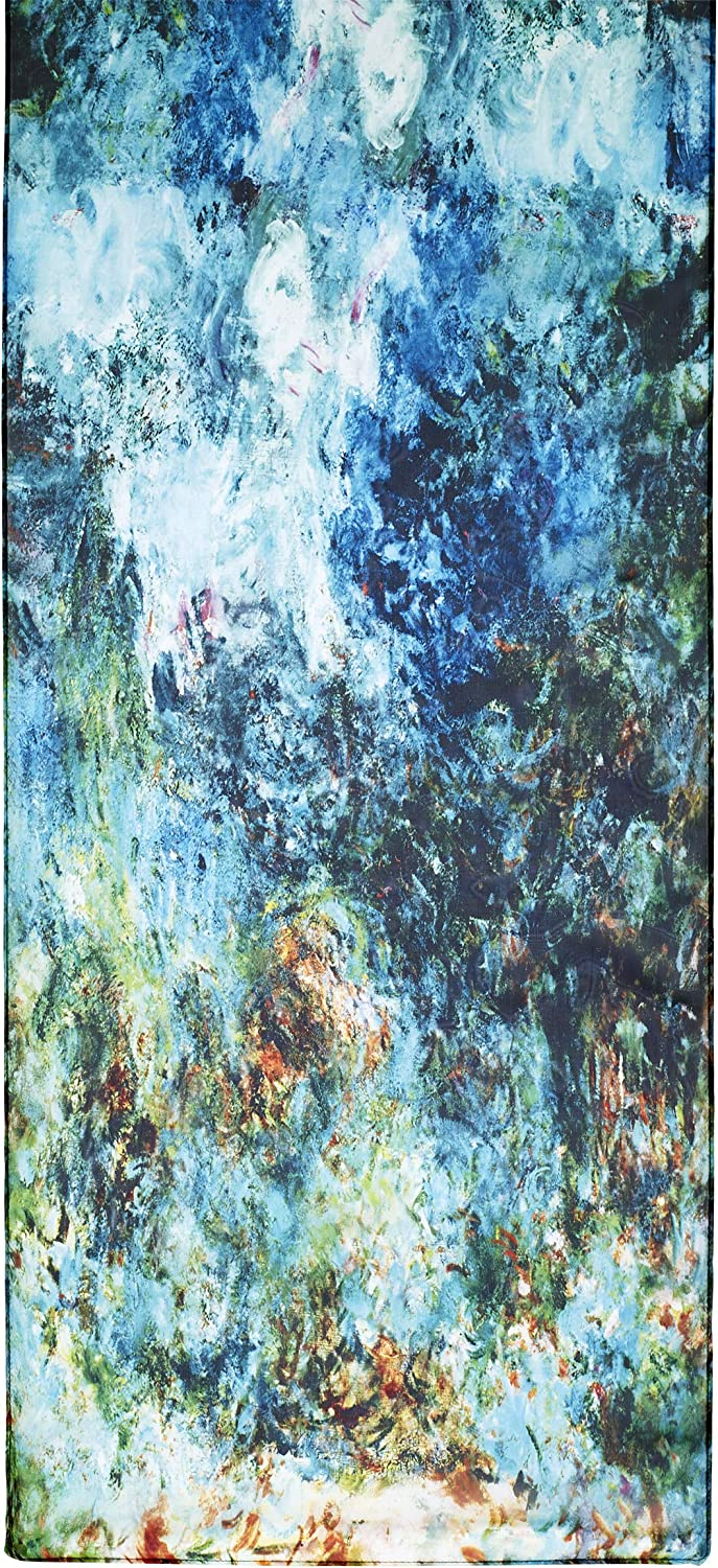 Monet, The House at Giverny Viewed From Rose Garden Scarf
