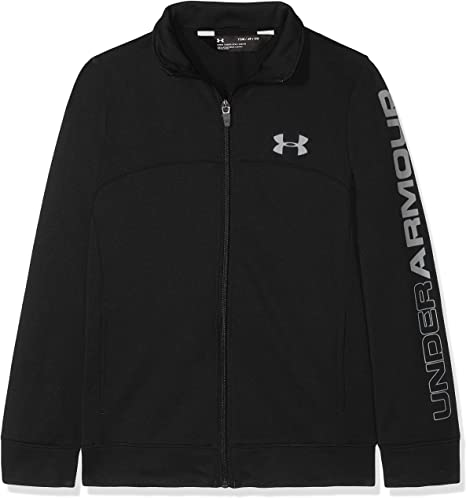 Under Armour Pennant Warm-up Jacket-blk//GPH Parte Superior del Calentamiento, Hombre