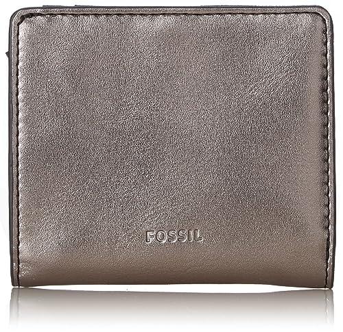 Fossil - Damen Taschengeldbörse ? Emma Rfid, Carteras Mujer, Gris (Gray), 1.59x9.5299999999999994x10.16 cm (B x H T): Amazon.es: Zapatos y complementos
