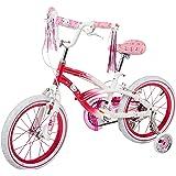 "Dynacraft Hello Kitty Girls BMX Street Bike 16"", Pink/White/Pink"