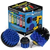 Boat Accessories - Kayak - Cleaning Supplies - Drill Brush - Rotary Cleaning Brushes for Boats and Watercraft - Canoes…