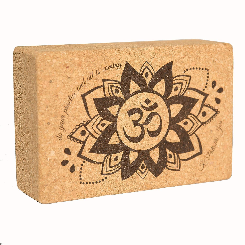 Amazon.com : Cork Yoga Blocks and Strap Set of 2 ...