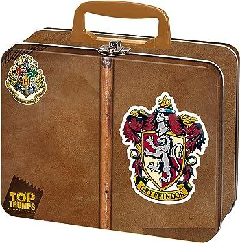 Top Trumps Juego de estaño, Color Harry Potter Gryffindor Lata ...