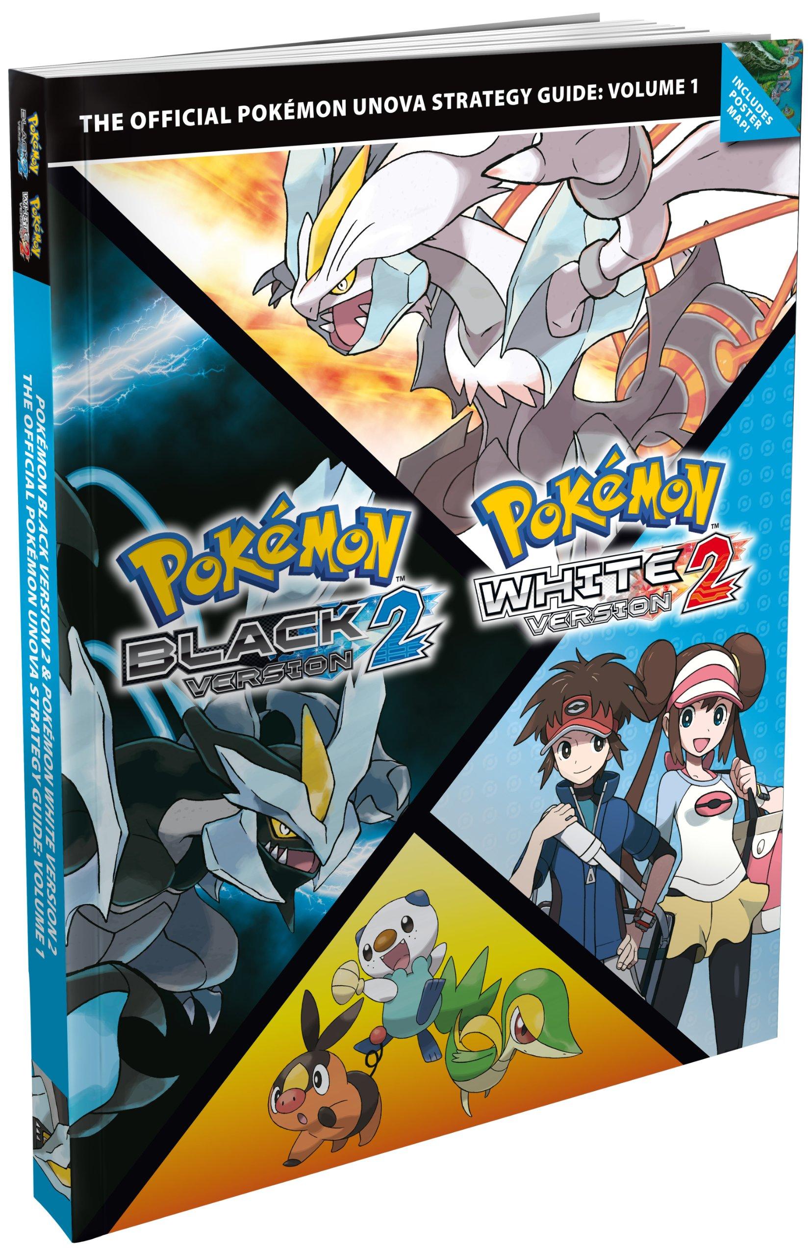 pok mon black version 2 pok mon white version 2 vol 1 the rh amazon co uk Pokemon X and Y Strategy Guide Pokemon White Strategy Guide