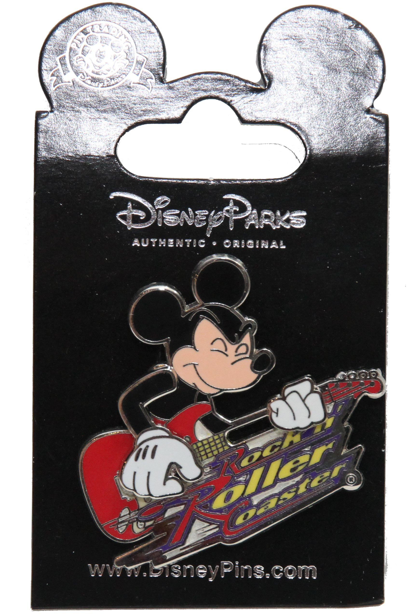 Disney Rock 'N Roller Coaster - Mickey Mouse on Guitar Pin