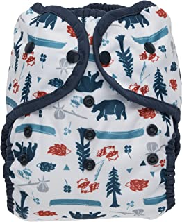 product image for Thirsties Duo Wrap Cloth Diaper Cover, Snap Closure, Adventure Trail Size Two (18-40 lbs)