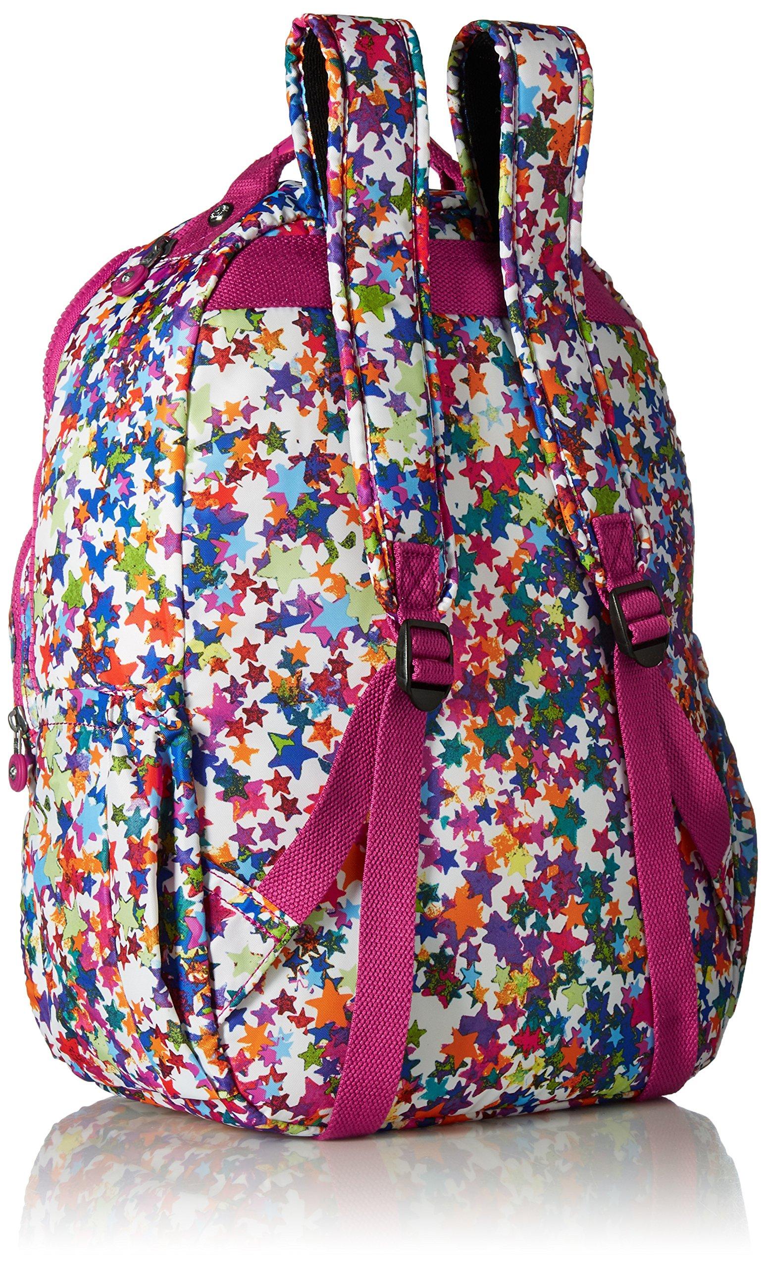 Seoul L Solid Laptop Backpack, Kaleidoscope Block by Kipling (Image #2)