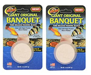 Zoo Med Laboratories AZMBB3 Giant Banquet Block Feeder