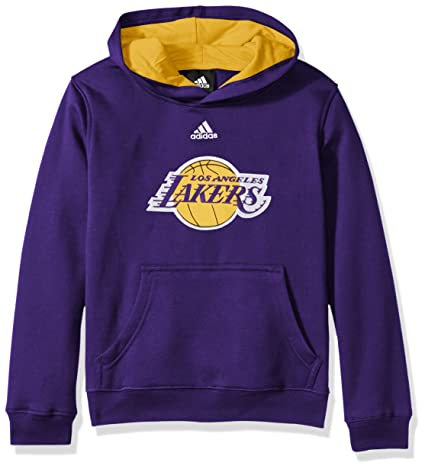 adidas Los Angeles Lakers Youth Niños NBA 2013 Team Color Sudadera con Capucha Sudadera