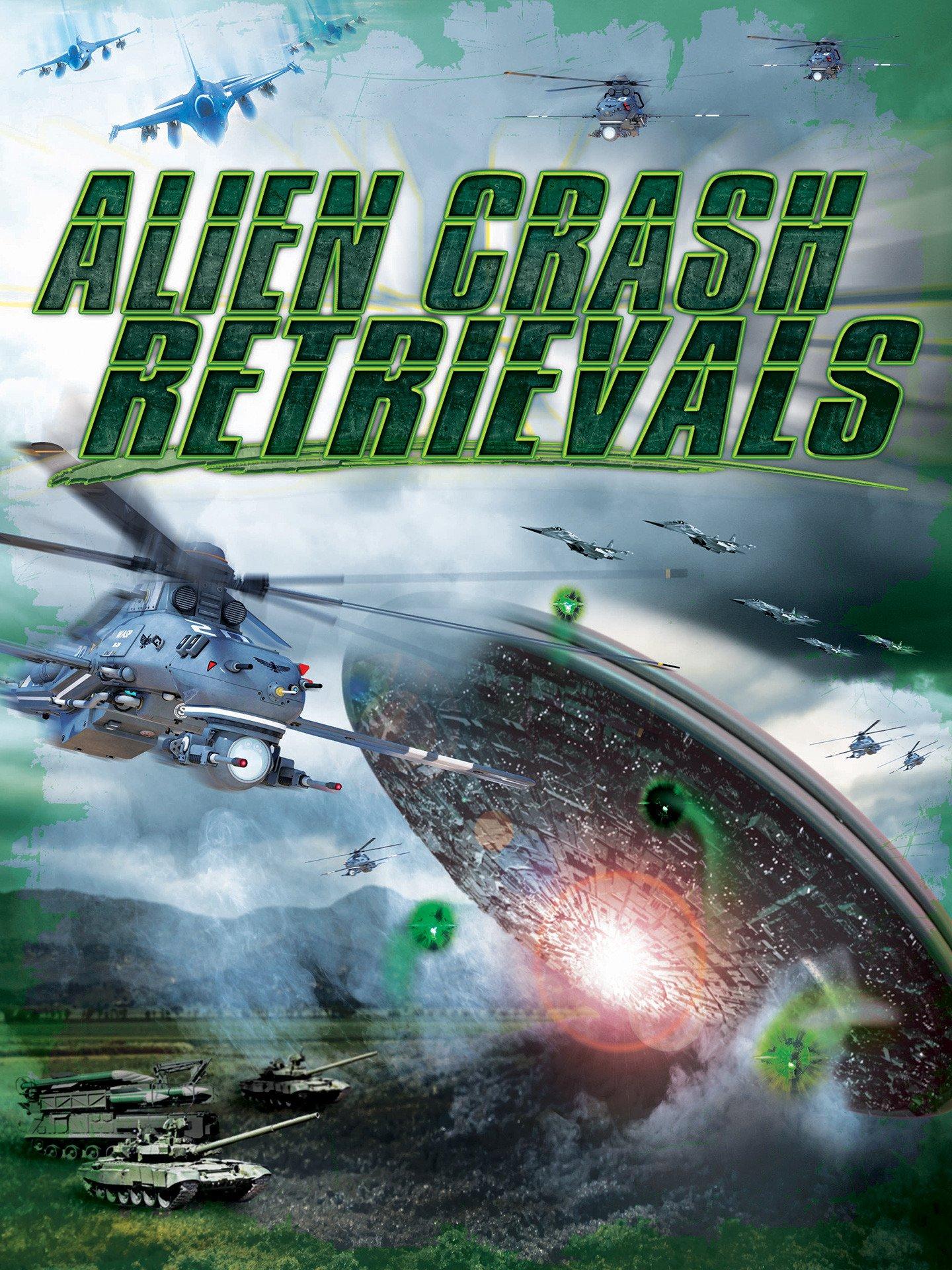 Alien Crash Retrievals on Amazon Prime Video UK