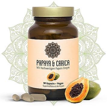 Biohacks - Papaya & Carica - Con Enzima Papaina - 90 ...