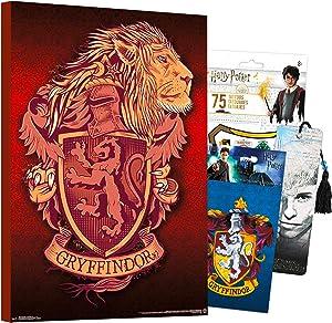 Harry Potter Poster Wall Art Set ~ Mounted Harry Potter Print (8