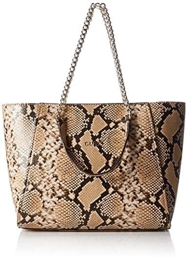 Guess Nikki multicolor shopping bag with chains