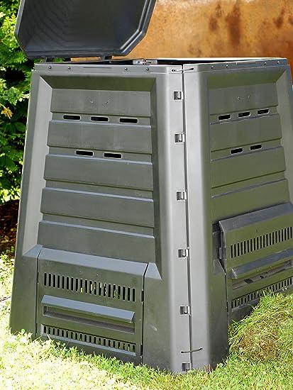 Xclou 343300 - Recipiente para hacer compost (340 L, plástico) [Importado de Alemania]: Amazon.es: Jardín