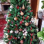 Albero di Natale mod  Frosty Green Altezza 180 cm Effetto super folto