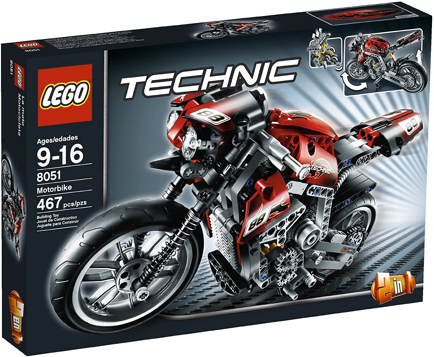 7 Best LEGO Motorcycle Sets Reviews of 2021 9