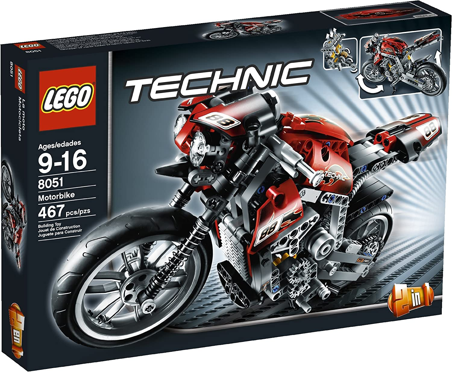 Top 7 Best LEGO Motorcycle Sets Reviews in 2020 2