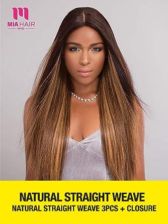 Amazon Com Mia Hair Unprocessed Human Hair Natural