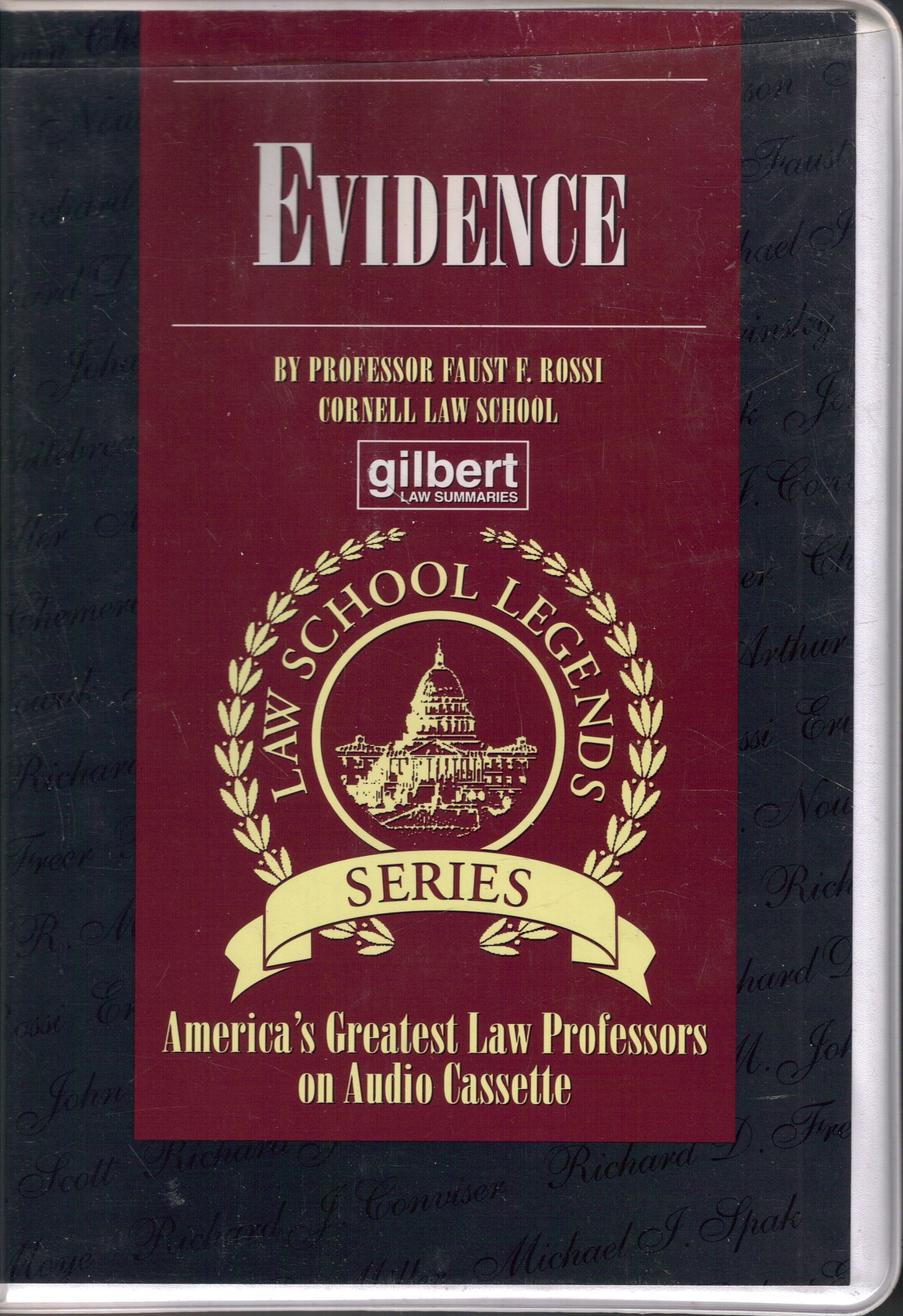 Evidence (Law School Legends Series)