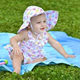 BA-1pc Ruffle Swimsuit with Built-in Reusable