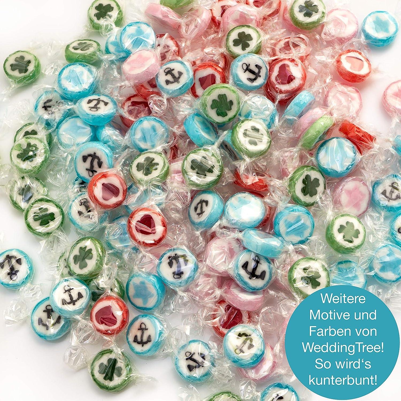 Weddingtree Rocks Bonbons Bleu dans une Étoile Forme à saveur de rock 500 g-Bonbons un