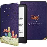 HoYiXi Funda para Nuevo Kindle 2019 Kindle Estuche 2019 Funda de Cuero Delgada con Auto Sueño/Estela Funcion Pintado Cover para Amazon de Kindle (10th Generation 2019 Release) - Príncipe