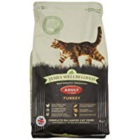 James Wellbeloved Turkey and Rice Dry Adult Cat Food - 4 kg