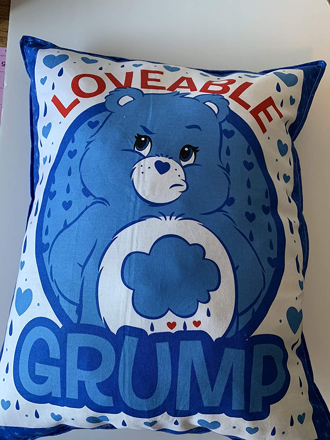 washable weighted pillows 5 lbs Care Bear pillows Large Weighted Childrens pillow kids pillow