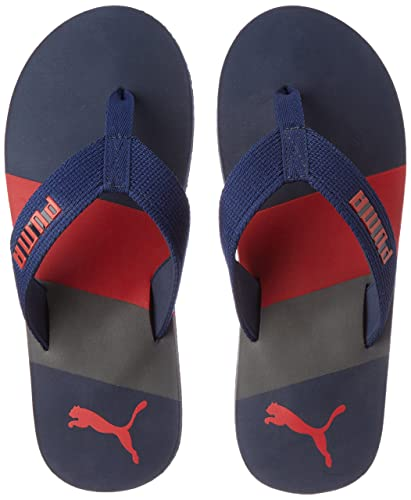 c7b5ded1a050cc Puma Men s Robby Dp Limoges and High Risk Red Flip Flops Thong Sandals - 6  UK