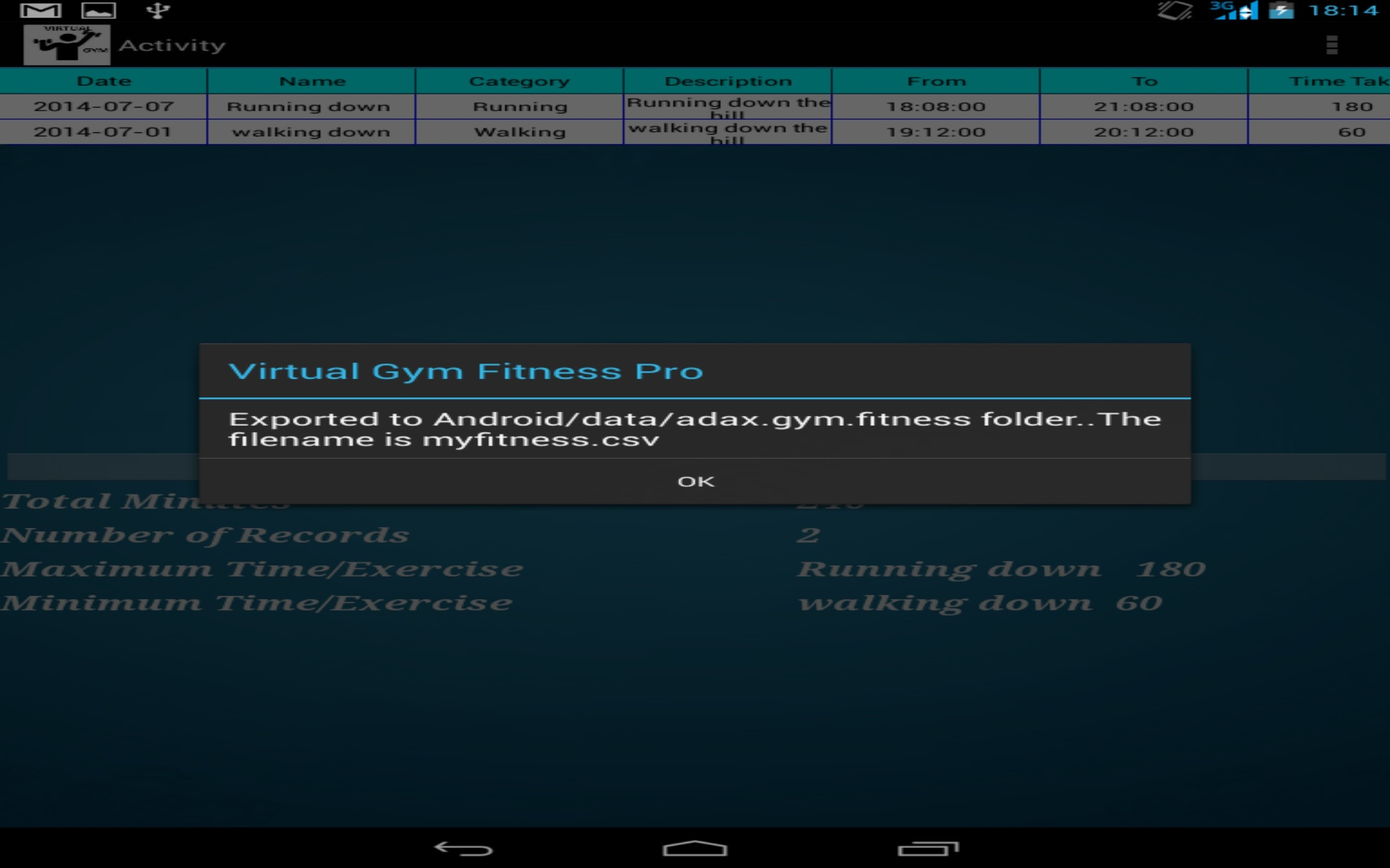 Amazon com: Virtual Gym Fitness App: Appstore for Android