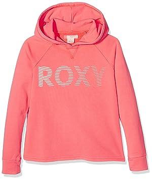 Roxy Sudadera para niñ Ukelelerxymove, UKULELERXYMOVE, Neon Grapefruit, ...