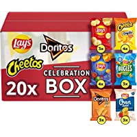 Lay's Celebration Box Chips - Lay's, Doritos & Cheetos, Doos 20 stuks