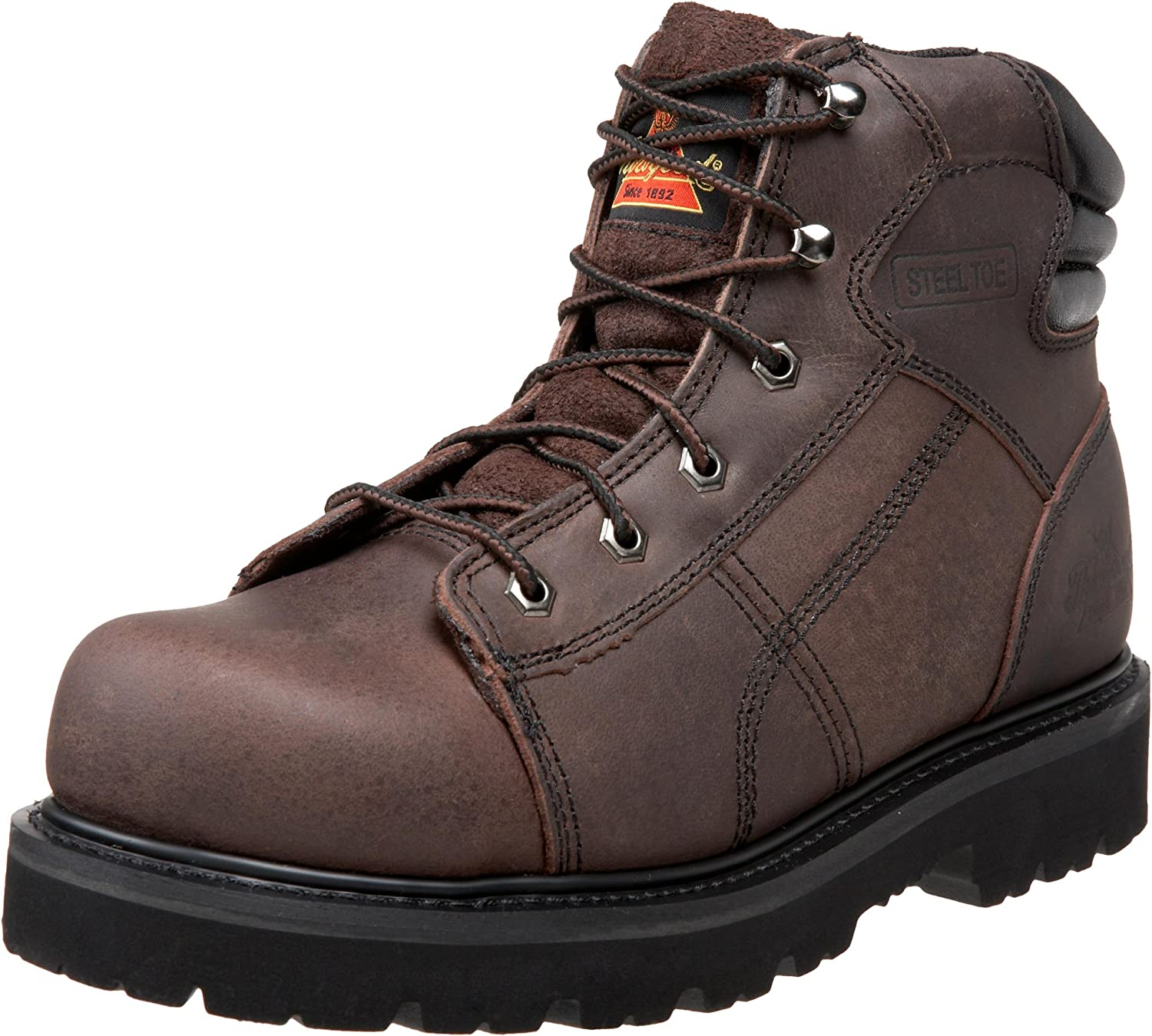 Thorogood Mens Oblique Collection 6 Lace To Toe Boot