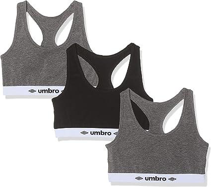 Umbro Sujetador deportivo para Mujer (pack de 3): Amazon.es: Ropa y accesorios