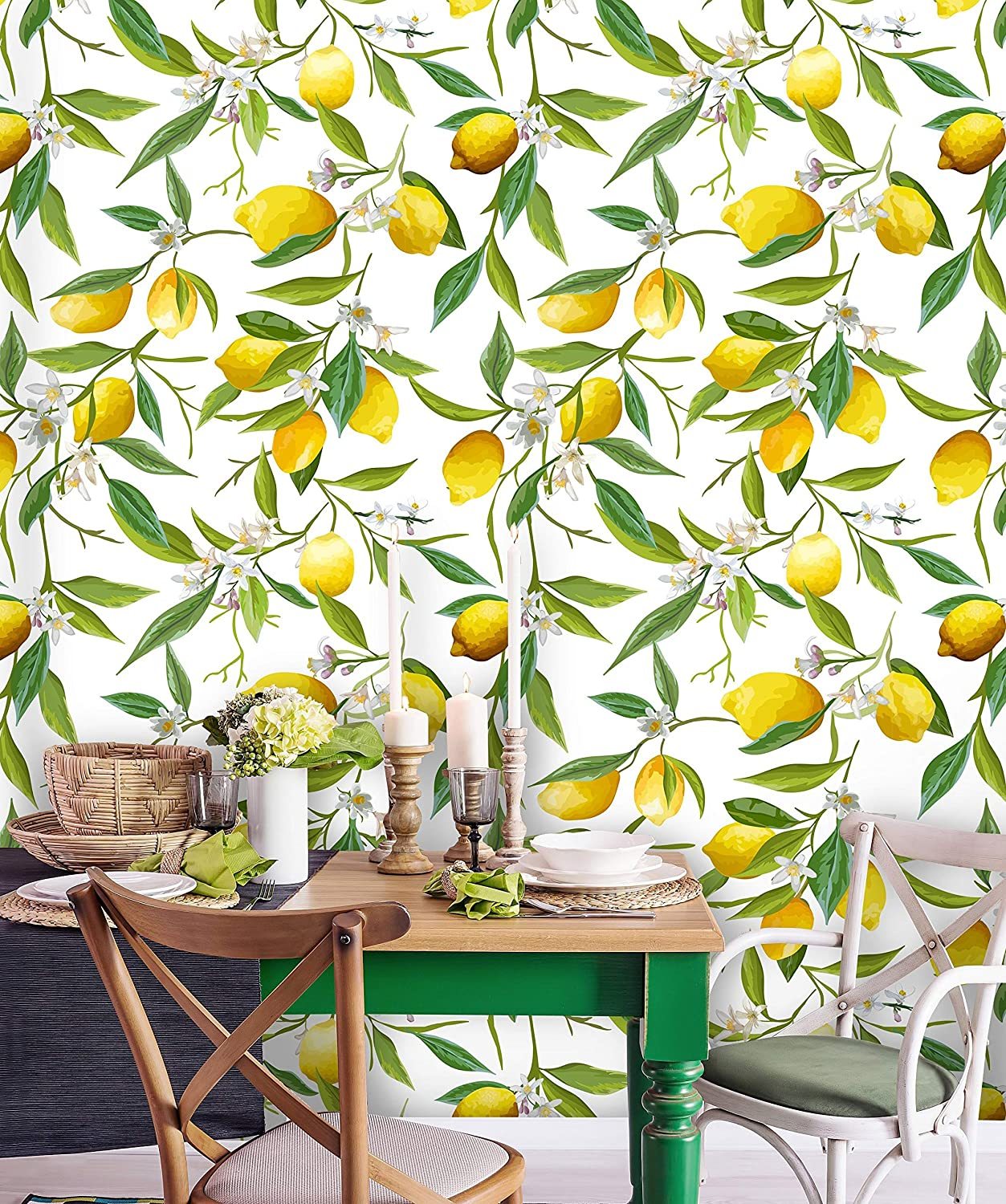 Removable Wallpaper Peel And Stick Floral Wallpaper Pattern