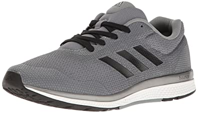 adidas Performance Men\u0027s Mana Bounce 2 m Aramis Running Shoe, Grey/Black/Neo