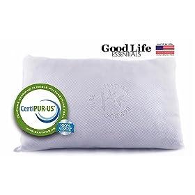 GoodLife Essentials Memory Foam Pillow