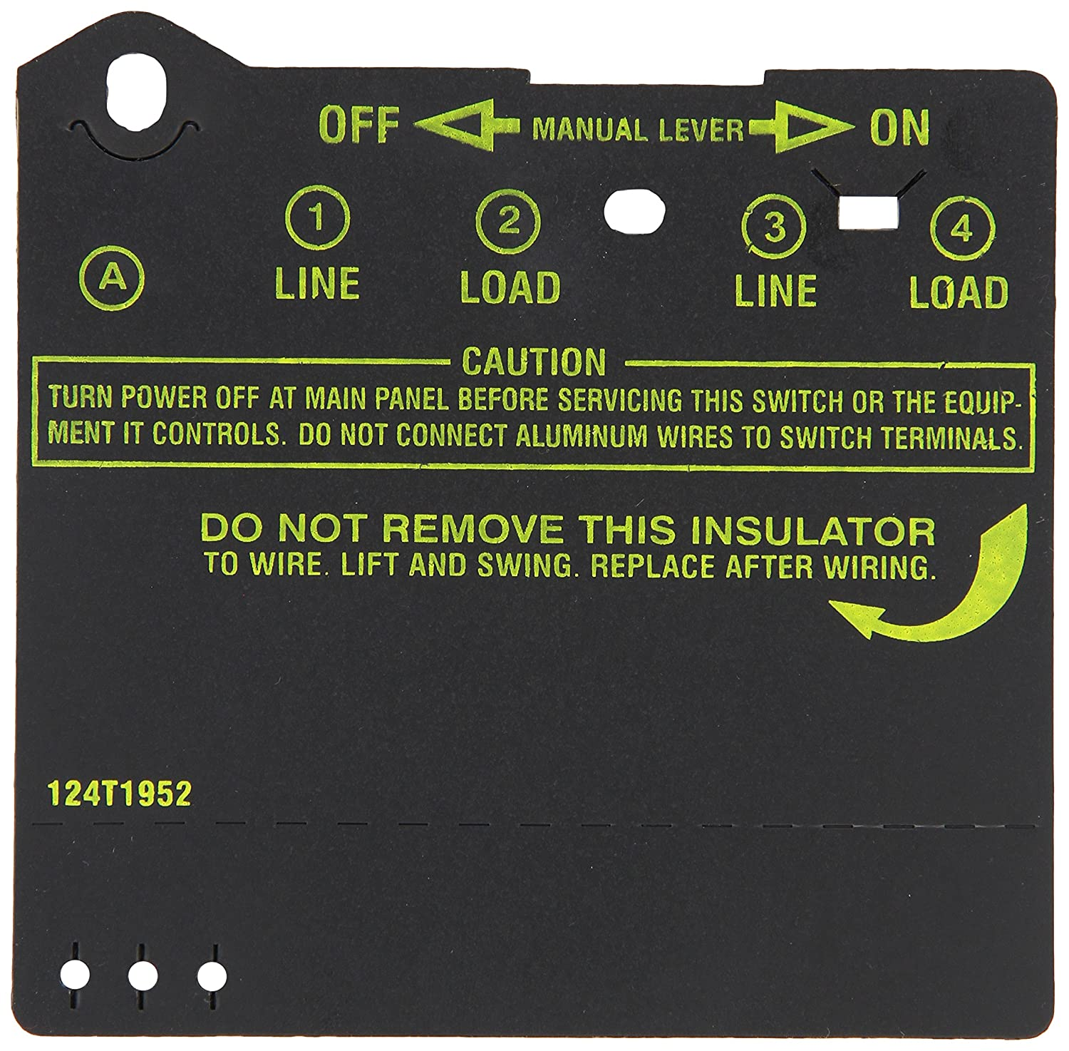 Amazon.com : 124T1952 INSULATOR FOR T100 : Wall Timer Switches ...