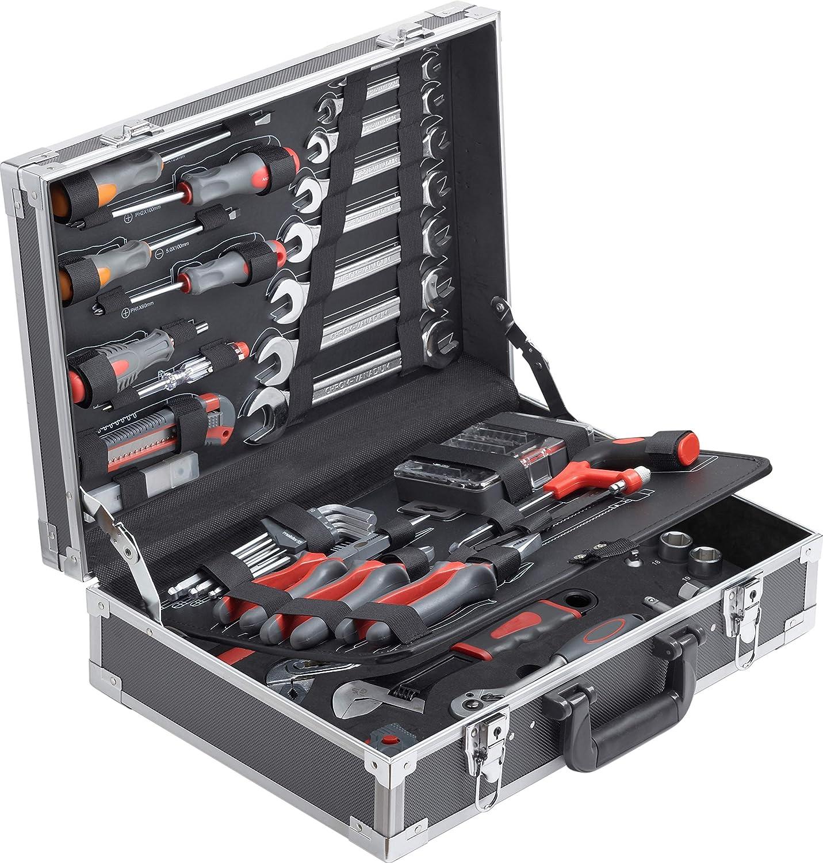 Connex 116-teilig Alu-Koffer Set